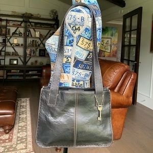 Vintage Fossil Purse Black Leather. 👜 Like New